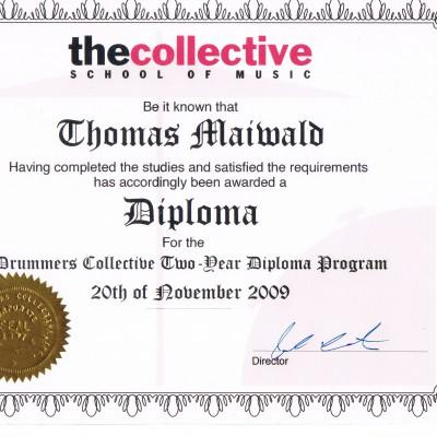 2 year Diploma Thomas